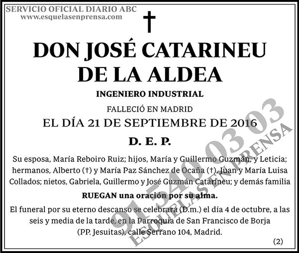 José Catarineu de la Aldea